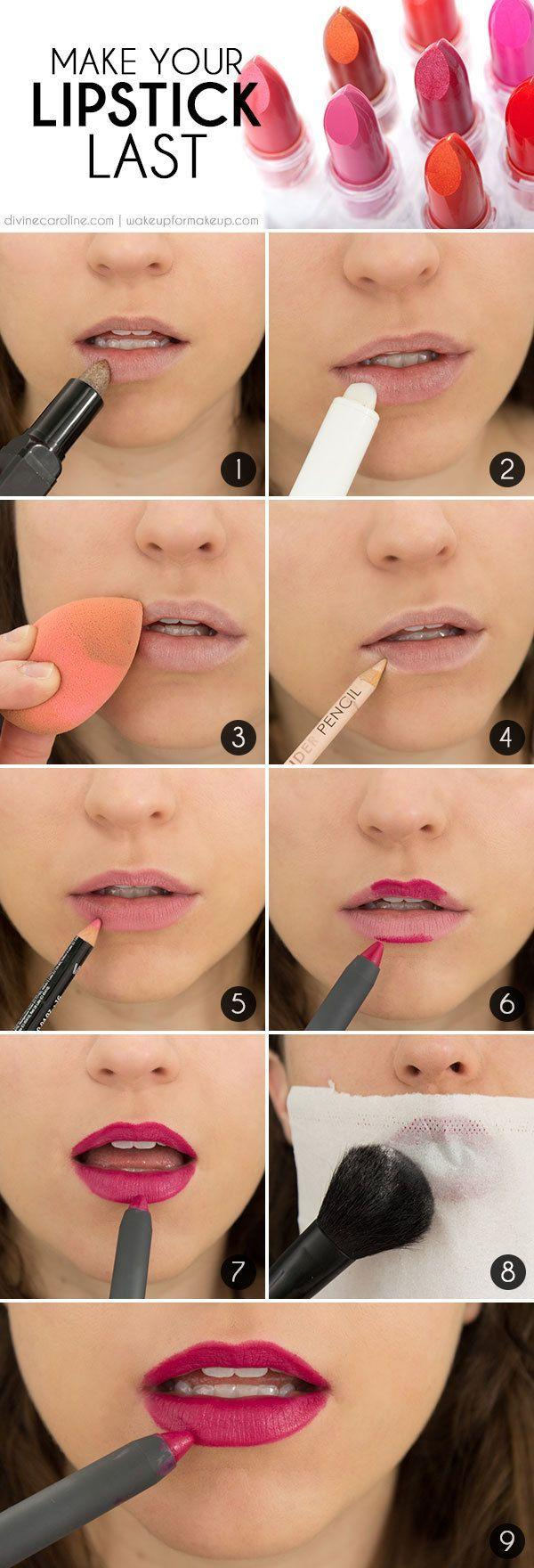 Свадьба - Make Your Lip Color Last: The Secret To Long-Lasting Lipstick