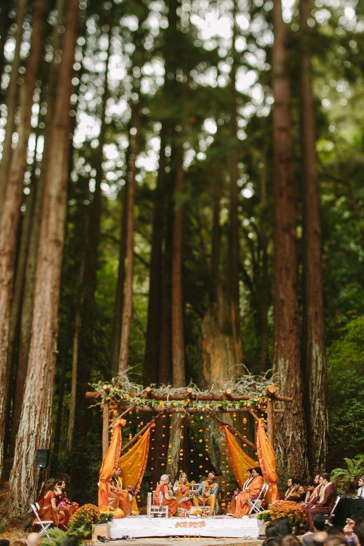 Свадьба - Rustic Indian Wedding