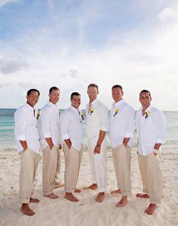 Hochzeit - Beach Themed Wedding Ideas