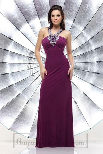 Wedding - Beading Sparkle Empire Chiffon Ruching Evening Dress