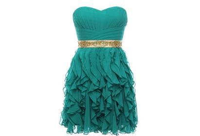 Boda - Empire Sweetheart Satin Long Evening Dress