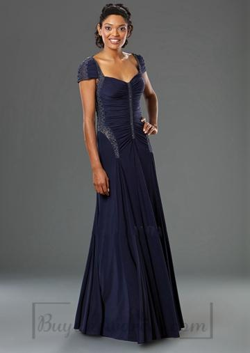 Wedding - Long Dropped Waist Sweetheart Evening Dress