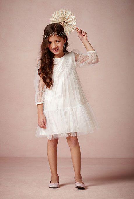 Hochzeit - BHLDN - Summer Flower Girl Dress: BHLDN