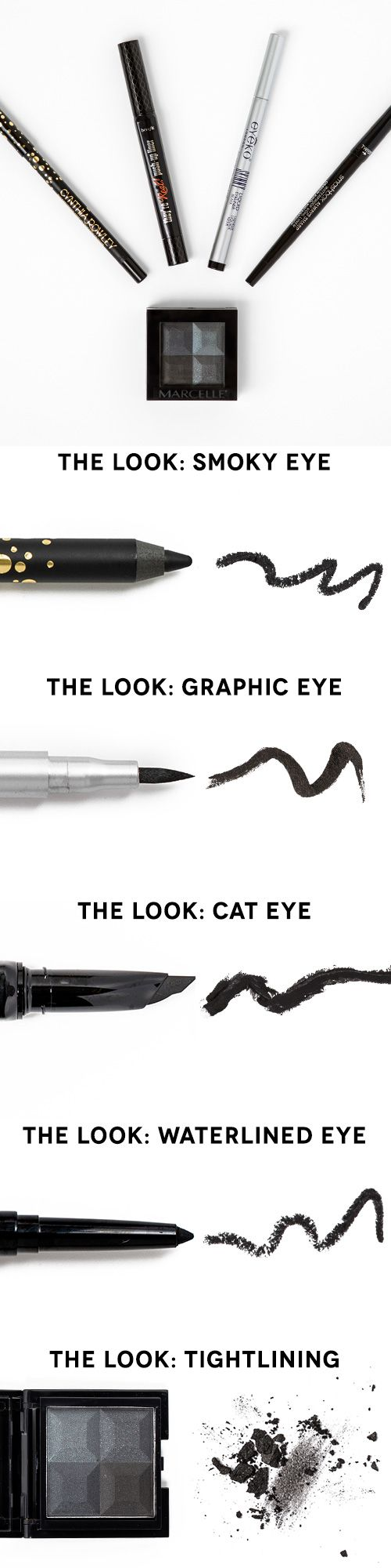 Свадьба - The 5 Eyeliners Every Woman Should Own