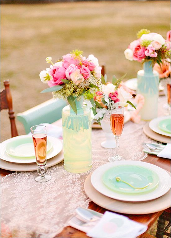 Whimsical Wedding - Whimsical Coral & Green Wedding #2195572 - Weddbook