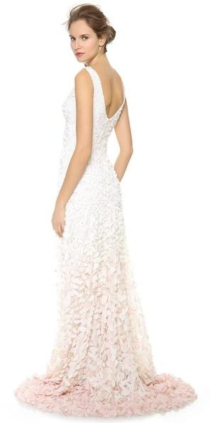 Mariage - Theia Emma Embroidered Petal Gown