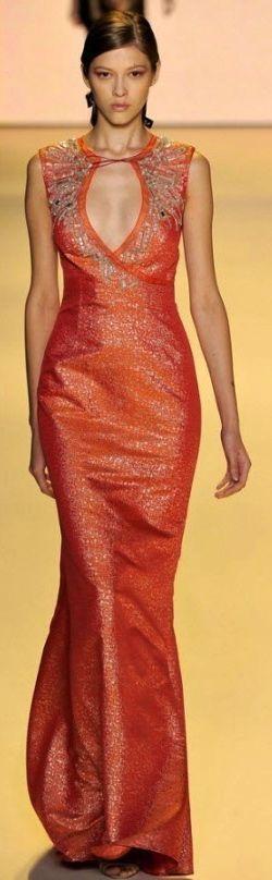 Hochzeit - Gowns....Orange Obsessions