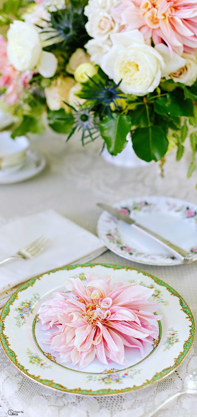 Wedding - Place Setting Details