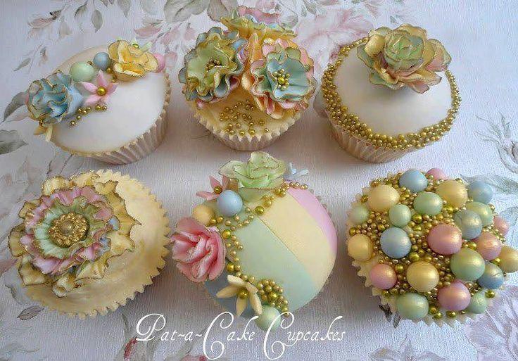 Hochzeit - Cupcakes