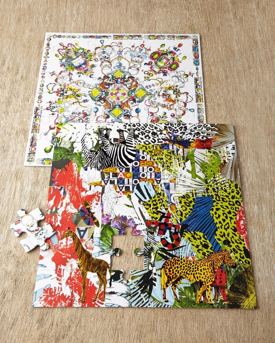 Hochzeit - Christian Lacroix          Glam'azonia Boxed Jigsaw Puzzle