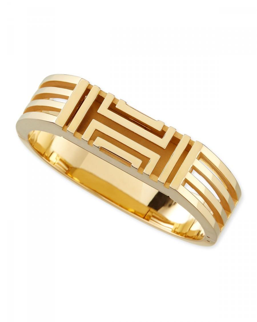 Mariage - Tory Burch				 		 	 	   				 				Gold-Plated Fitbit-Case Bracelet