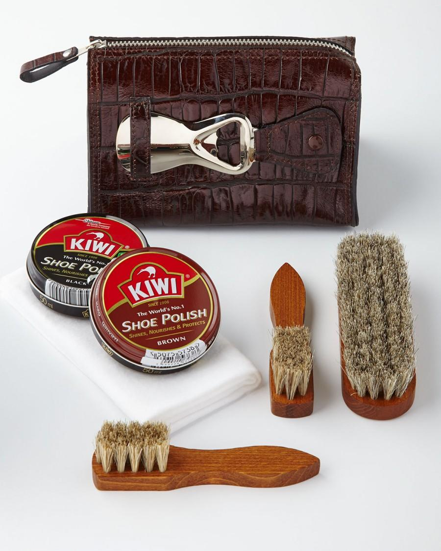 Свадьба - Travel Shoe Shine Kit