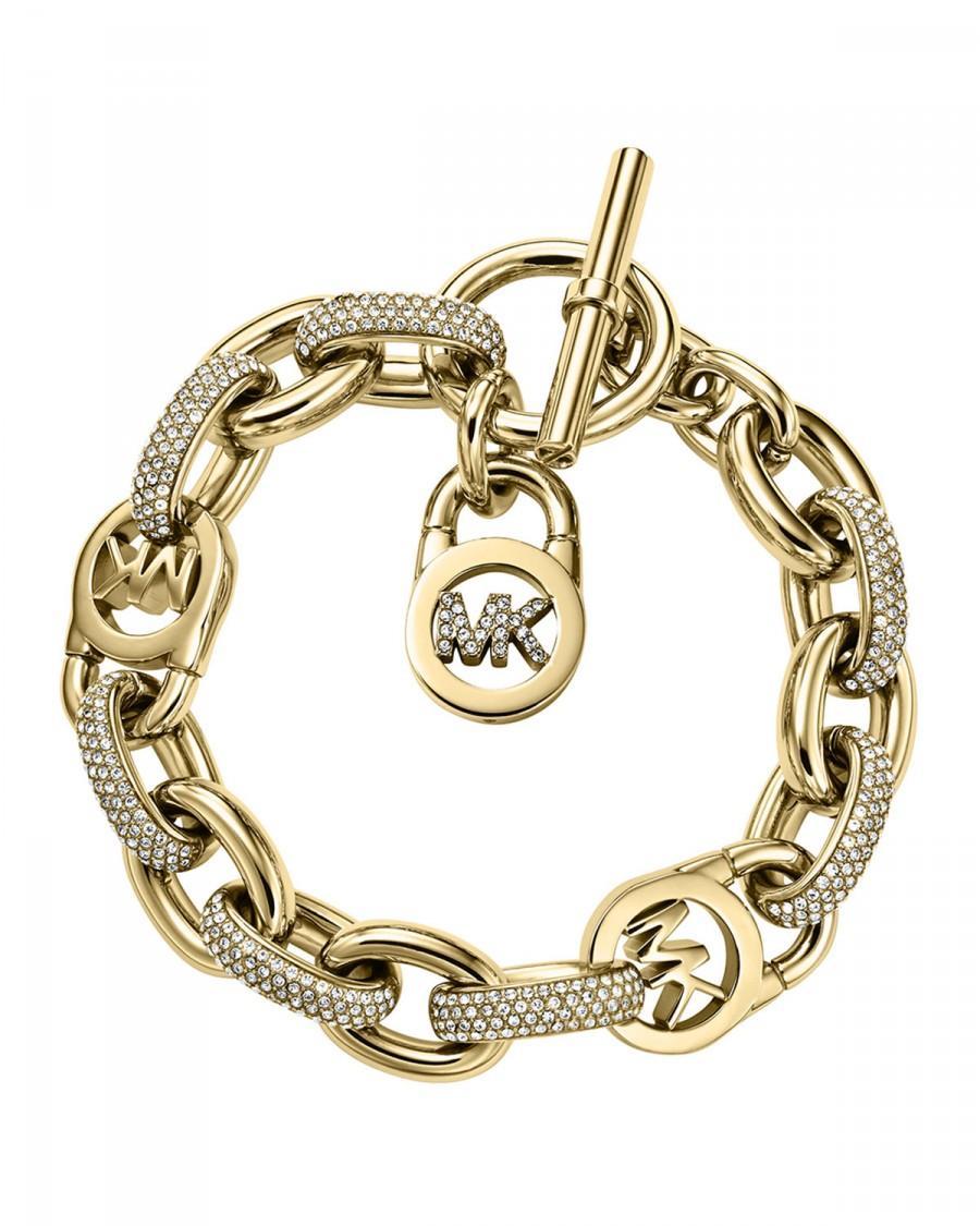 Mariage - Michael Kors       Pave Golden MK Toggle Bracelet