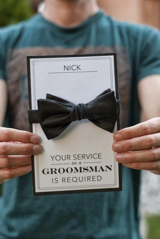 Mariage - Pretty Perfect Will You Be My Groomsman Ideas