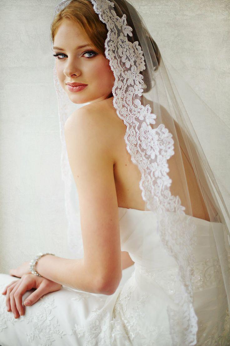 Свадьба - Bridal Veil -  Traditional Veil