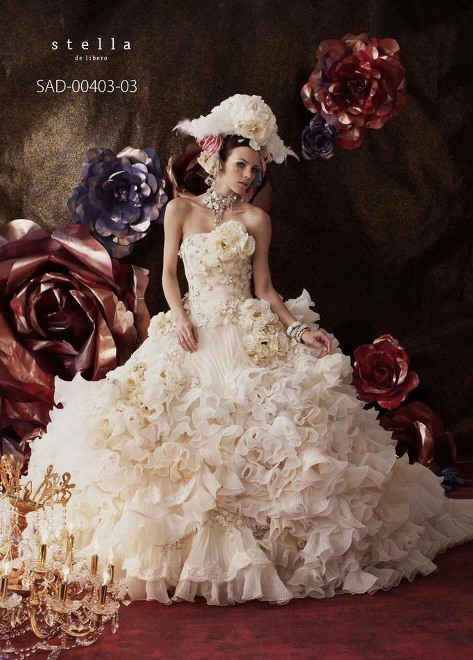 Mariage - Strapless Wedding Dress Inspiration