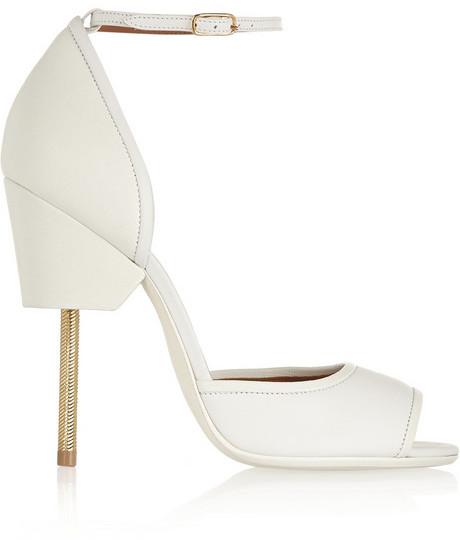 fa6608dedebf Givenchy Matilda Sandals In White Textured-leather  2198735 - Weddbook