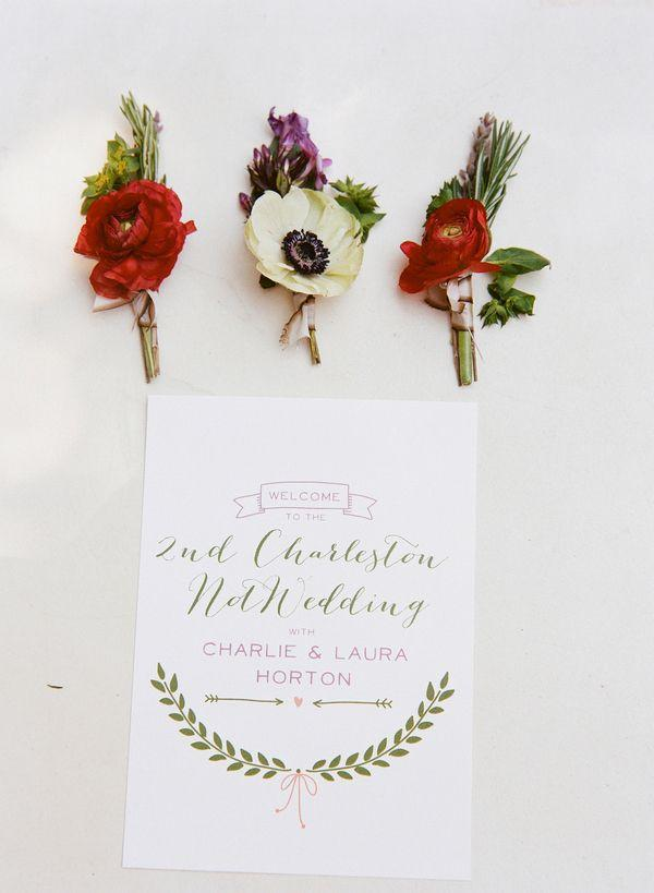 Hochzeit - Vintage Southern Charm At The Not Wedding Charleston!