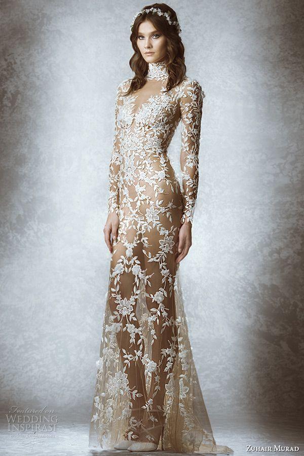 Свадьба - Zuhair Murad Bridal Fall 2015 Wedding Dresses