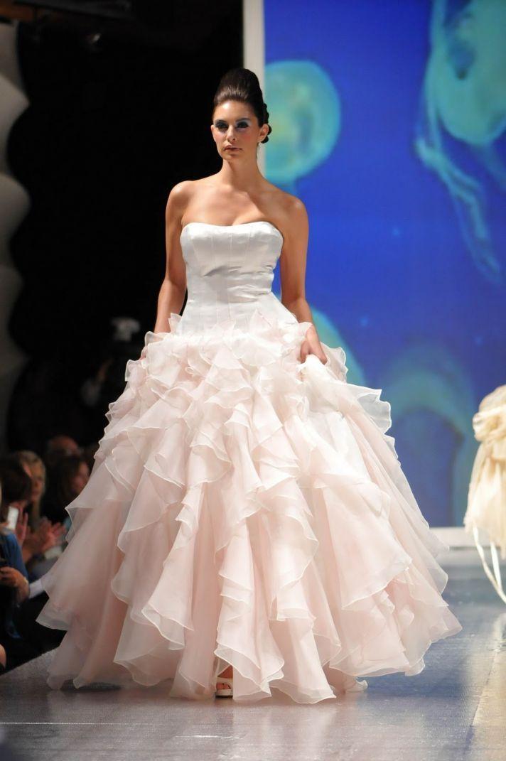 Light Pink amp Blush Wedding Dresses  Davids Bridal