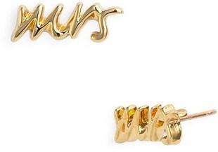 Kate Spade New York Say Yes Mrs Stud Earrings