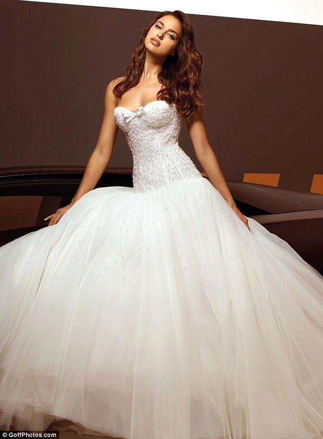 Trying to tell us something irina shayk models wedding for Ready to buy wedding dresses