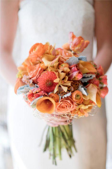 Mariage - Orange/Peach Wedding Theme