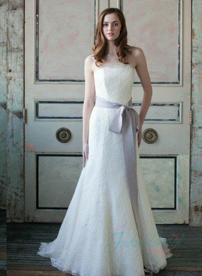 Mariage - Amazing 2015 new simple all lace trumpet wedding dress