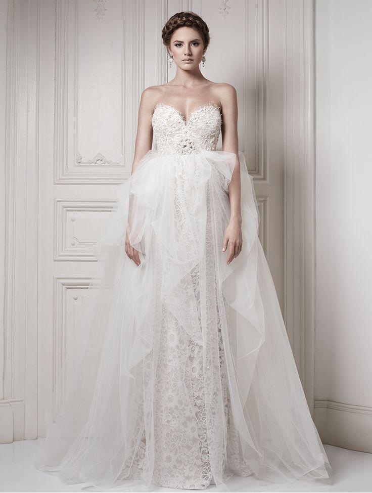 Düğün - Strapless Wedding Dress Inspiration