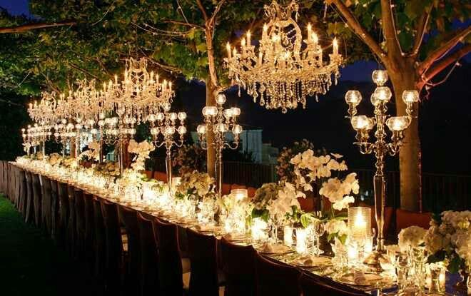 Свадьба - Decor: Light Up The Night