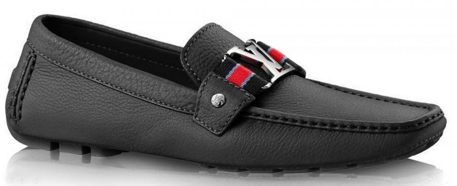 louis vuitton shoes for men men's louis vuitton lv mens black leather moccasins driving shoes 2200888