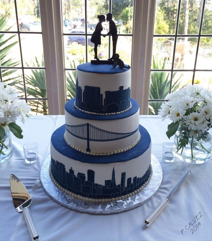 Modern Wedding Cakes #2201039