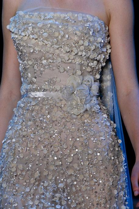 Свадьба - Elie Saab Fall 2011 Couture Detail - Elie Saab Haute Couture Collection