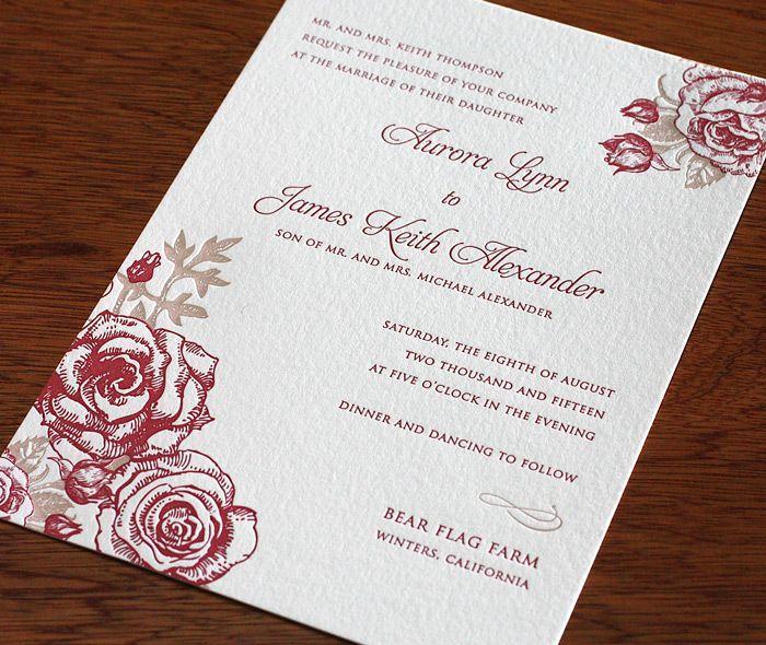 زفاف - Roses Wedding Inspiration