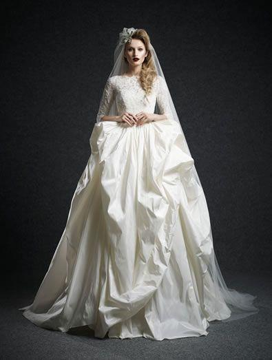 Wedding - Long Sleeved & 3/4 Length Sleeve Wedding Gown Inspiration