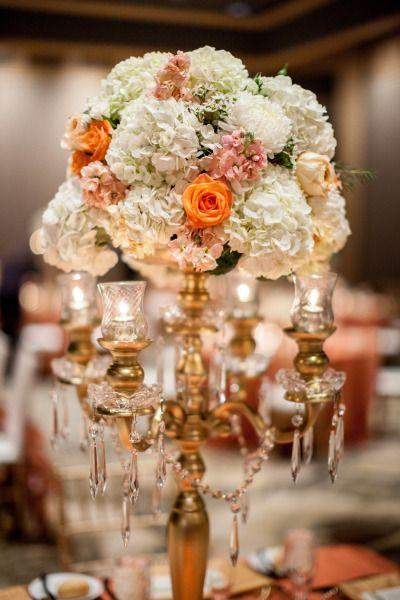 Wedding - Glamorous Orange & Gold Wedding