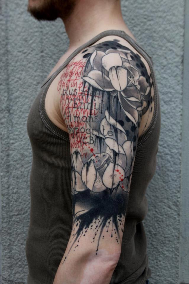 Mariage - Inspiration Sleeve Tattoo