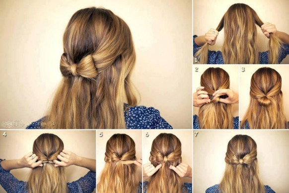 Diy hairstyles for long hair step by step what woman needs diy hairstyles for long hair lovely feminine hairstyle for long hair solutioingenieria Choice Image