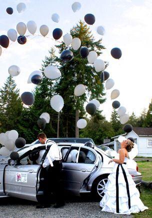 Hochzeit - The Getaway Car!