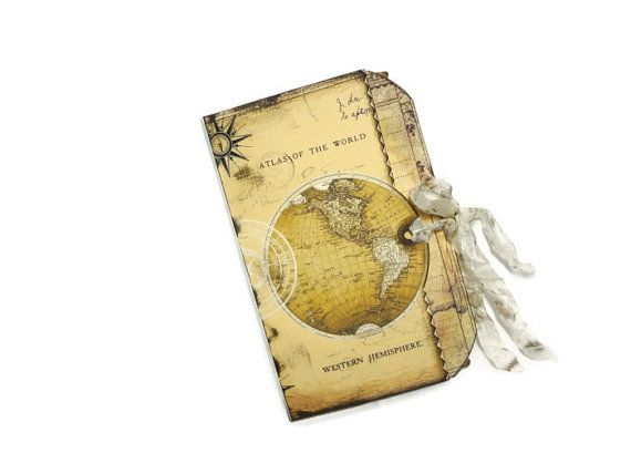Antique map bookmarks vintage style travel themed party favors antique map bookmarks vintage style travel themed party favors world map bookmarks travel gift set of 4 gumiabroncs Images