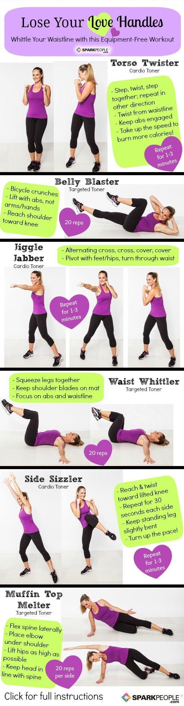Wedding - The 'Lose Your Love Handles' Workout