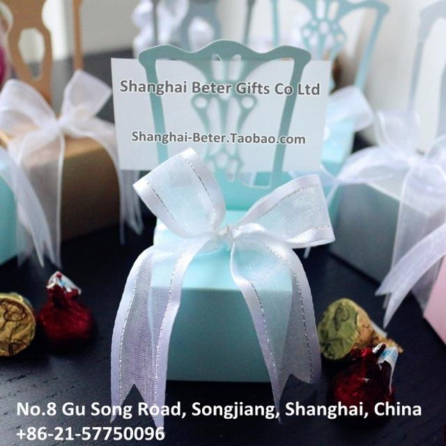Mariage - Tiffany Wedding Favor Boxes BETER-TH005-C1