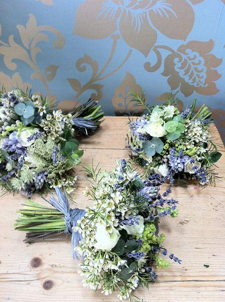 Mariage - Bouquets In Blue