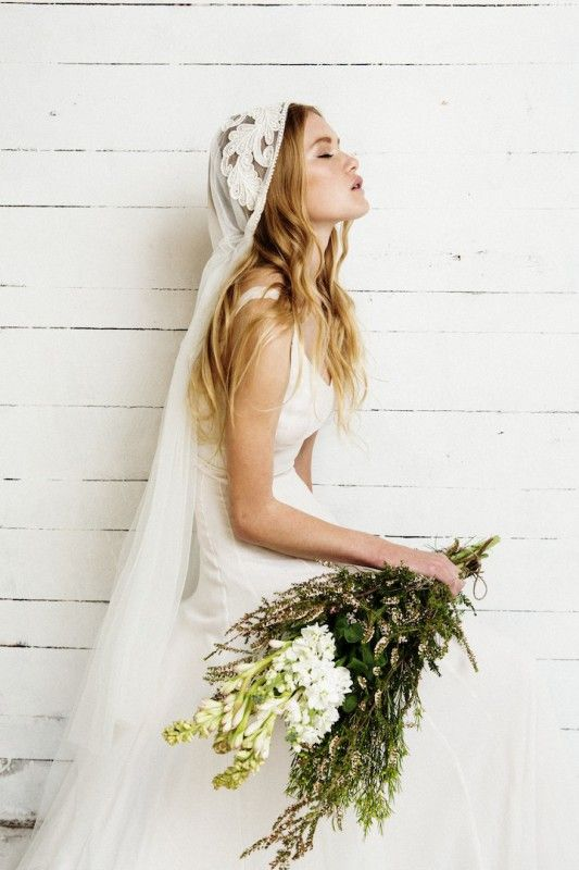 Hochzeit - Bridal Veils & Headpieces Inspiration