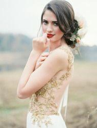 Свадьба - Gorgeous Gold Dress Giveaway!