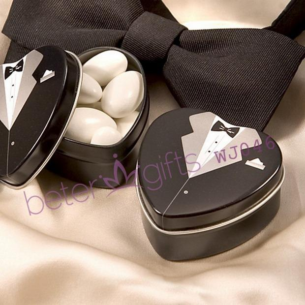 Свадьба - Bride and Groom Mint Tin box 30pcs Wedding favor box and party favor WJ046