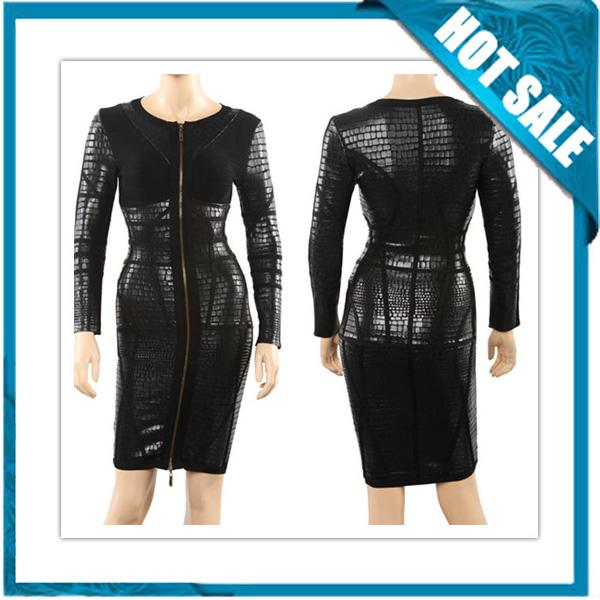 Wedding - 2014 New Fashion Long Sleeve Bandage Dress Sale