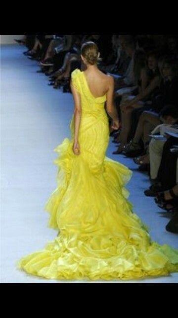 Wedding - Yellow Dress