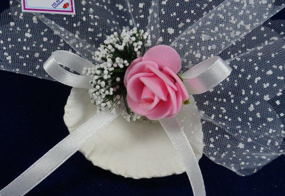 Hochzeit - #wedding #beachwedding #oyster #lavender #sachets #favors #romantic #chic #rustic #organza #ribbon #babypink #rose #bridalshower