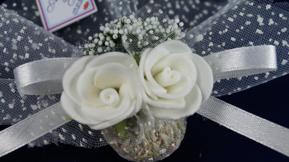 Mariage - #wedding #beachwedding #lavender #sachets #favors #romantic #chic #rustic #organza #ribbon #white #rose #bridalshower